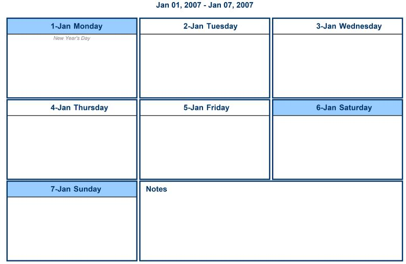 Search results for template calendar weekly page 2 for 2 page weekly calendar template