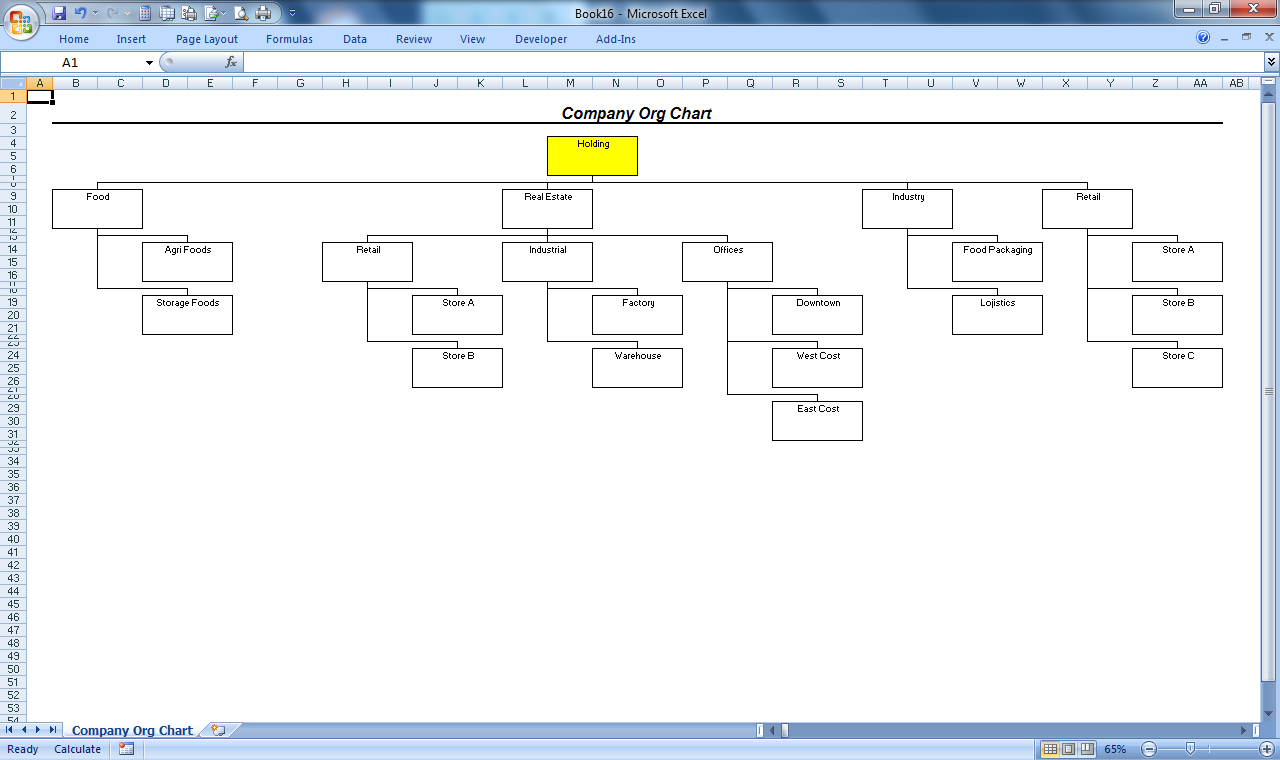 Officehelp macro 00051 organization chart maker for microsoft website navigation chart click to enlarge ccuart Images
