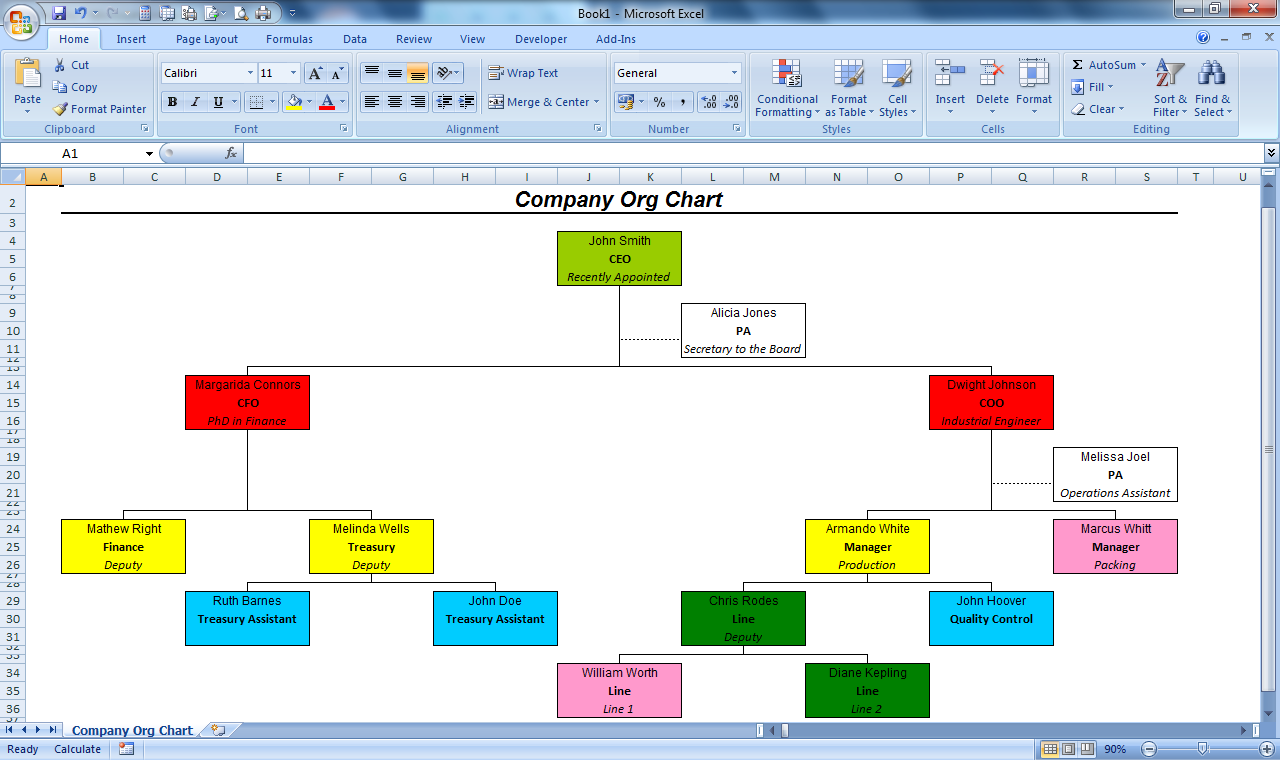 officehelp macro 00051 organization chart maker for