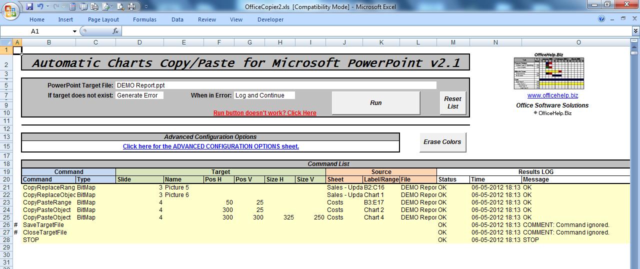 OfficeHelp - Macro (00054) - Automatic Copy/Paste for Microsoft ...